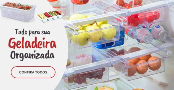 Tudo para sua geladeira organizada